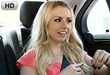 Roztomilá sexy blondýnka Lexi Belle a její anální šukání – HD porno
